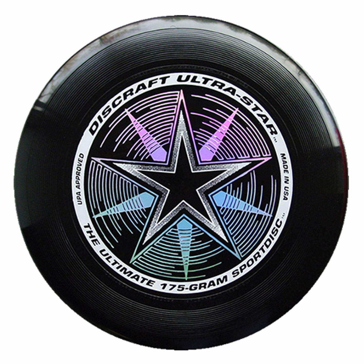 Discraft ULTRA-STAR 175g Ultimate Frisbee Disc - BLACK