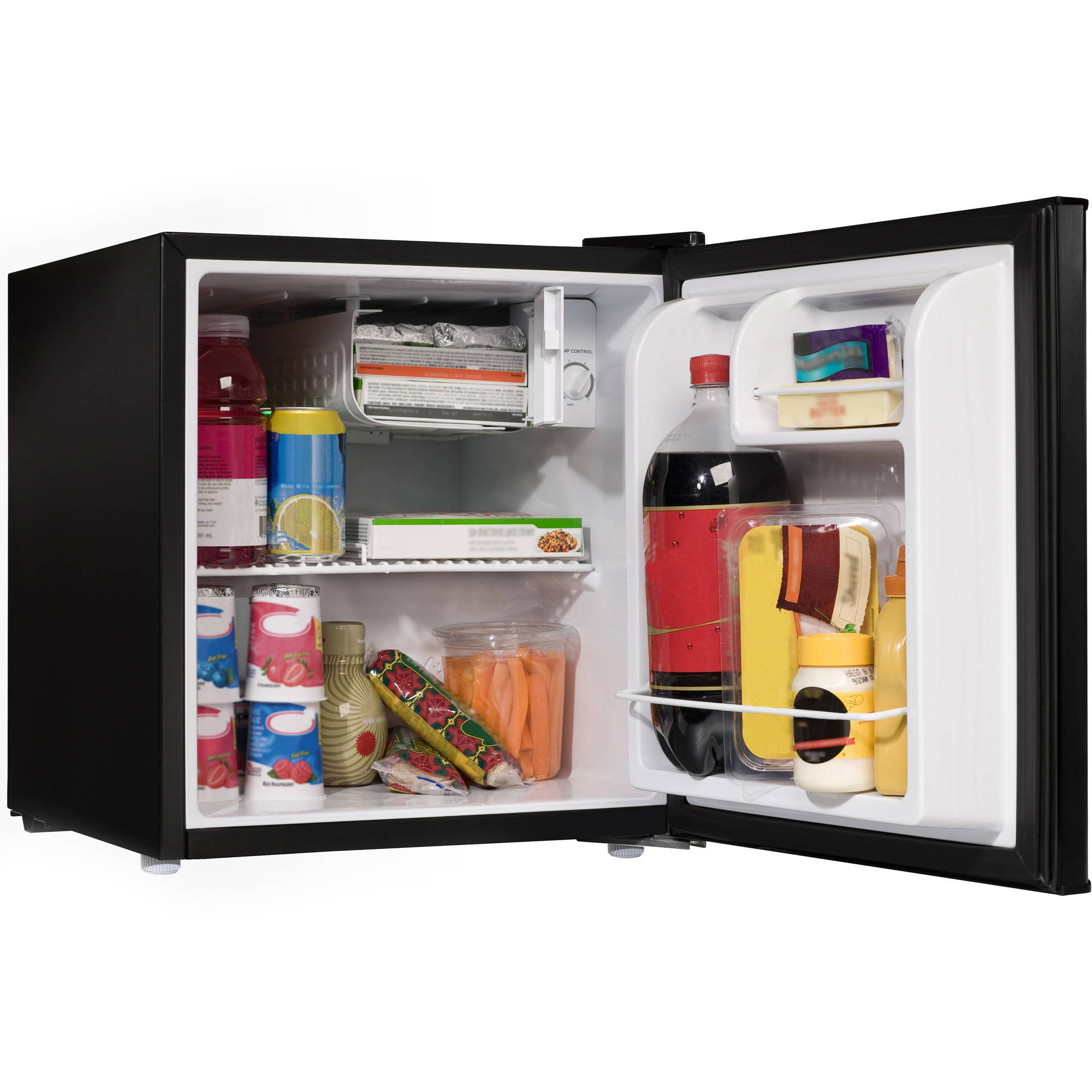 GALANZ 1.7 CU.FT. ONE DOOR REFRIGERATOR BLACK