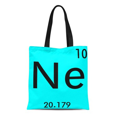 JSDART Canvas Tote Bag Chemist Create Your Own Periodic Table Symbol Funny Chemistry Reusable Handbag Shoulder Grocery Shopping Bags - image 1 de 1