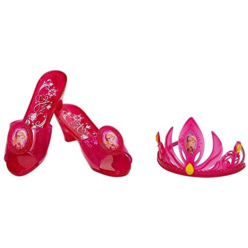 Disney Frozen Anna Tiara and Shoe set