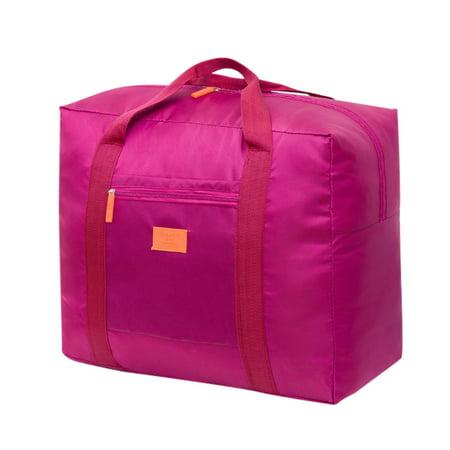 Tuscom Foldable Travel Duffel Bag Foldable Luggage Sports Gym Water Resistant