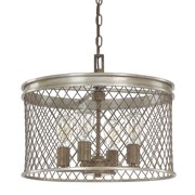 Donny Osmond Home Eastman 4-Light Drum Chandelier