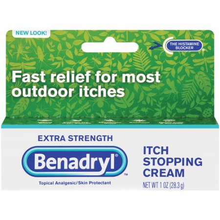 Benadryl Extra Strength Itch Stopping Cream, 1 oz