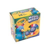 Fun Express - Crayola Model Clay Dlx Variety pk - Basic Supplies - Art Supplies - Sculpture - 1 Piece