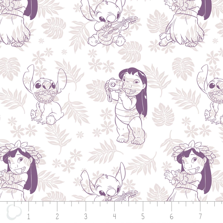 Stitch Hula Cotton Fabric Ready To Ship