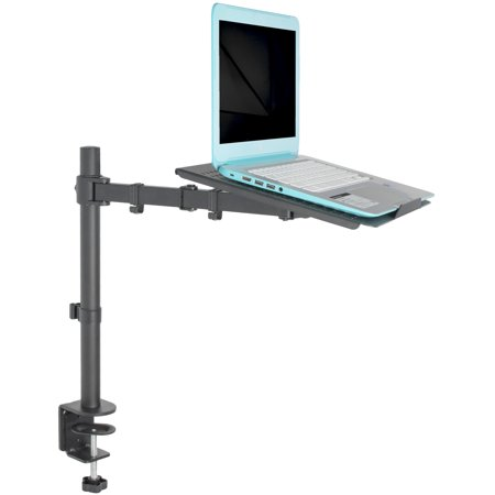 - VIVO Single Laptop / Notebook Desk Mount / Stand Fully Adjustable Extension with Clamp (STAND-V001L)