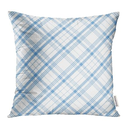 ARHOME Green British Tartan Plaid Pattern White Celtic Check Checkered Christmas Color Pillowcase Cushion Cover 18x18 inch