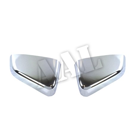 AAL Premium Chrome Mirror Cover For 2010 2011 2012 2013 2014 FORD MUSTANG Top Mirrors Cap