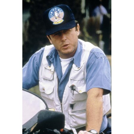 Le realisateur Tony Scott sur le tournage du film Le Flic by Beverly Hills II, 1987 On the set, Ton Print Wall - Halloween Le Film 2