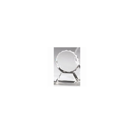 Optical Crystal Small Round - Optical Crystal Award