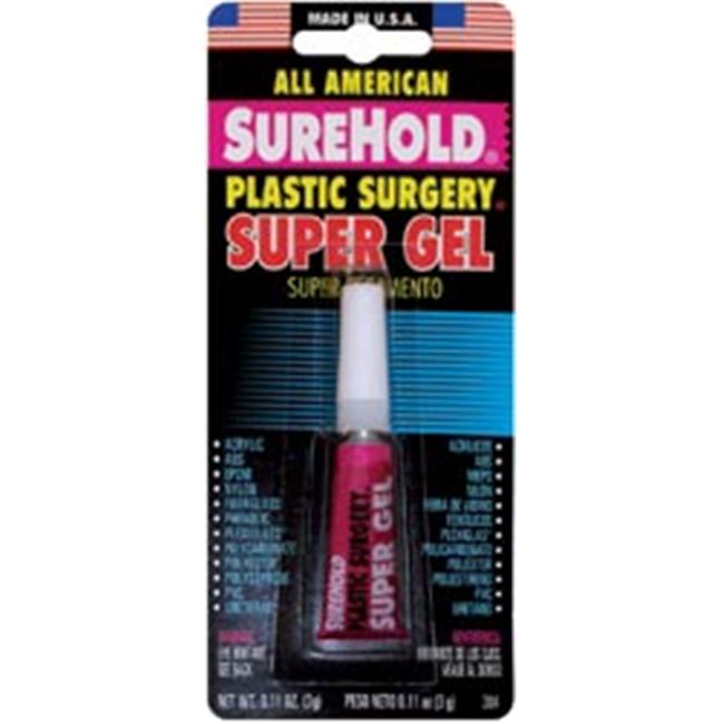 Surehold 461971 Plastic Surgery Super Gel -3 Grams