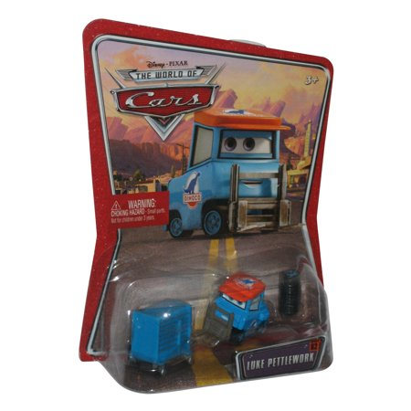 Car Movie Cars - Disney Pixar Cars Movie Dinoco Luke Pettlework Pitty Toy Die Cast Car
