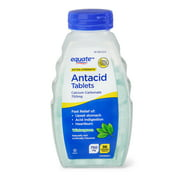 Equate Extra Strength Antacid Chewable Wintergreen Tablets, 750 mg, 96 Ct