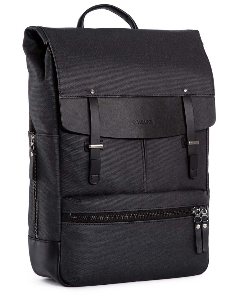 Timbuk2 Walker Pack Laptop Black One Size Backpack by Timbuk2