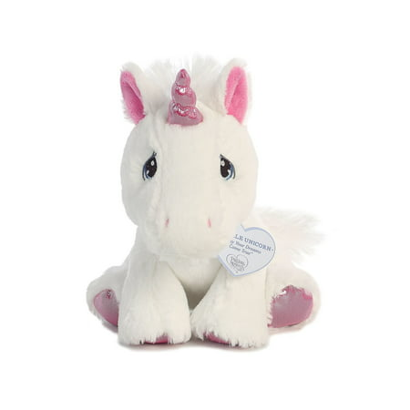 Sparkle Unicorn 8 inch - Baby Stuffed Animal by Precious Moments (15713) (Stuffed Unicorns)