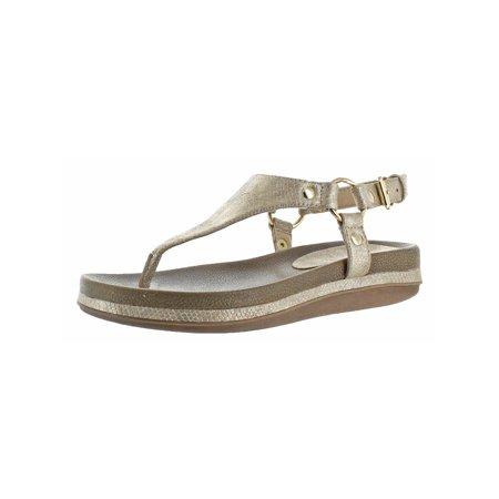 6c8df4199 Volatile Womens Aura Open Toe Slingback Thong Sandals - Walmart.com