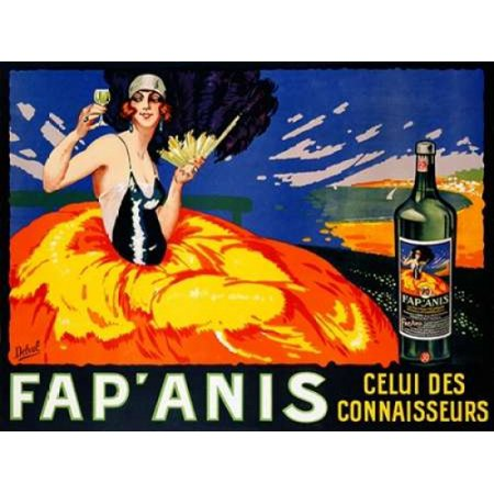 Fap Anis ca 1920-1930 Poster Print by  Delval (Best Images To Fap)