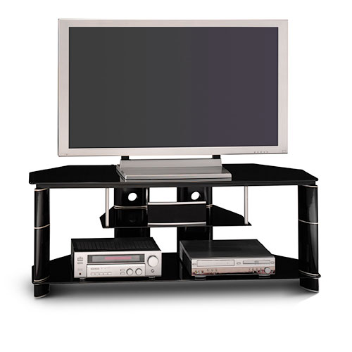 Bush Segments Black TV Stand, for TVs up to 60""