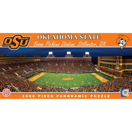 MasterPieces NCAA Panoramic Oklahoma State University Football Puzzle, 1000 Pieces