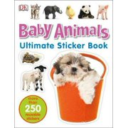 Baby Animals Ultimate Sticker Book (Paperback)