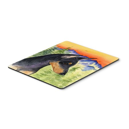 Manchester Terrier Mouse Pad / Hot Pad / Trivet