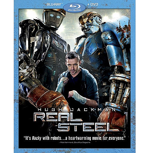 Real Steel (Blu-ray + DVD) (Widescreen)