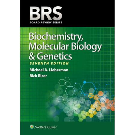 BRS Biochemistry, Molecular Biology, and Genetics - eBook - Walmart com