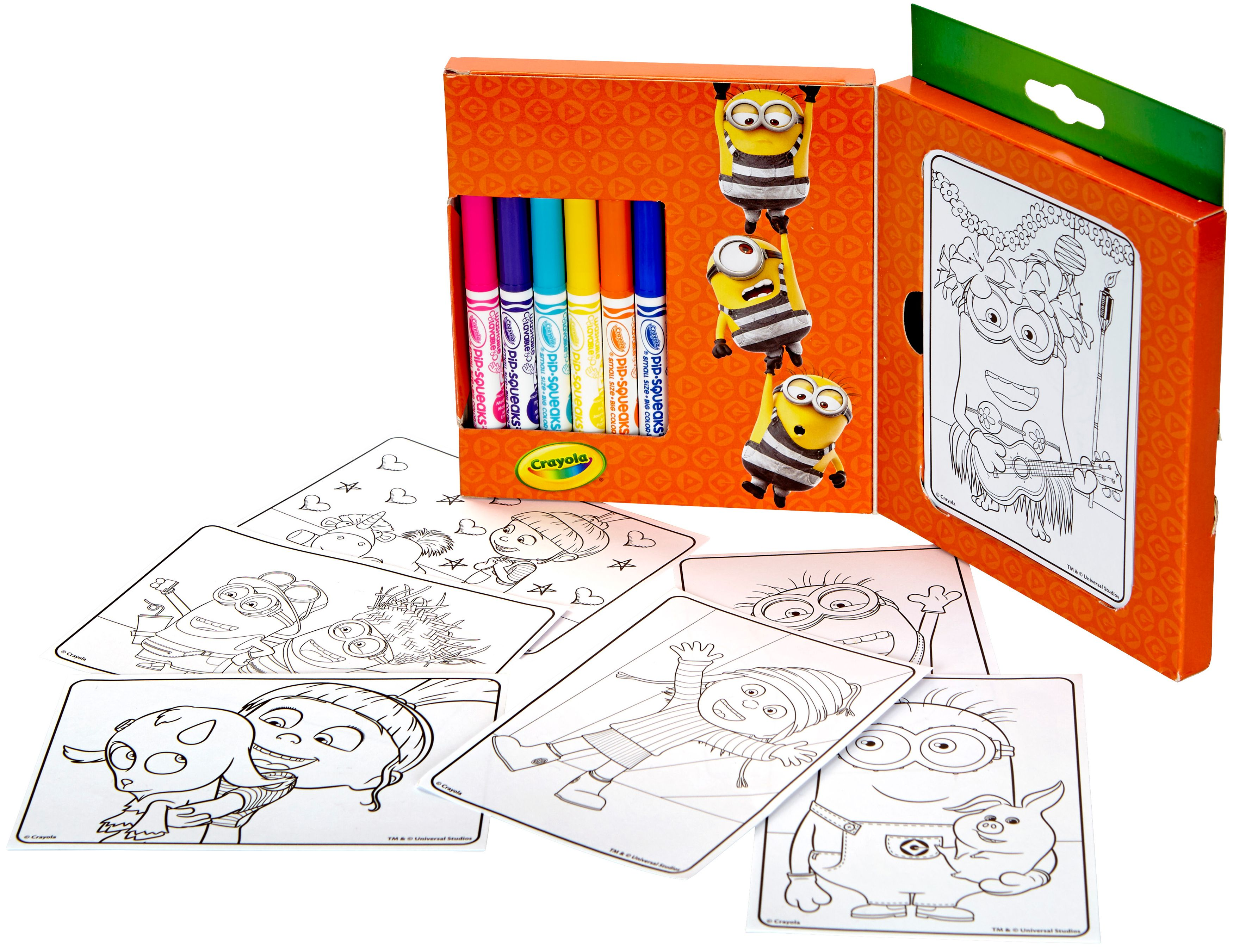 Crayola Mini Coloring Pages,Despicable Me 3 - Walmart.com - Walmart.com