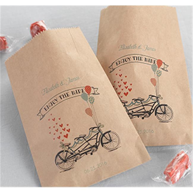 Hortense b Hewitt 32684P Tandem Bike Bags - Kraft