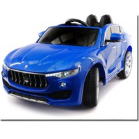 2018 Licensed MASERATI LEVANTE 12V Electric Rabber Wheels Kids Ride On Vehicles Toys Cars with Remote Control BLUE
