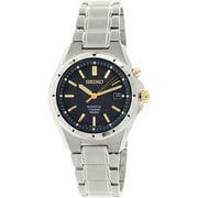 Seiko Men's SKA495 Grey Titanium Quartz Watch