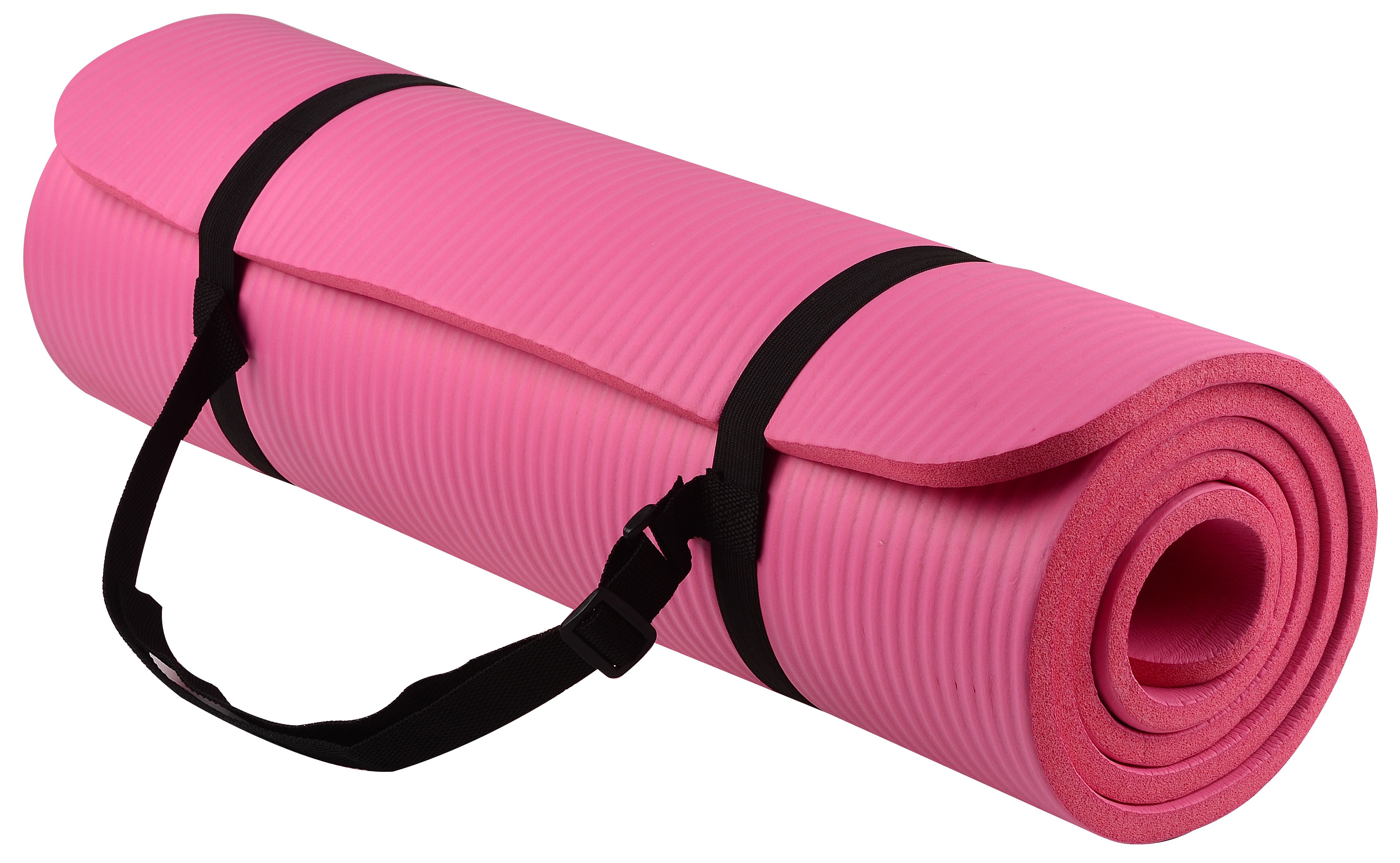 Balancefrom All-Purpose 1 2-Inch Exercise Yoga Mat Anti-Tear with Carrying Strap by Yoga Videos