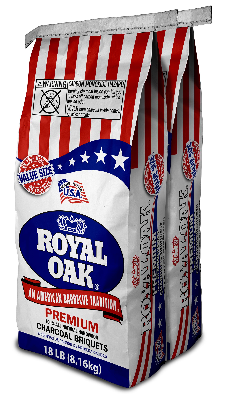 Royal Oak All Natural Hardwood Premium Charcoal Briquets