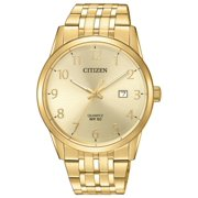 Citizen Men's BI5002-57Q Gold Tone Arabic Gold Dial Analog Quartz Watch