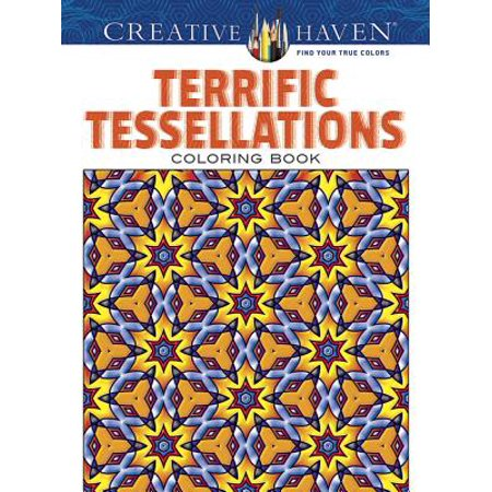 Terrific Tessellations Coloring Book - Halloween Tessellations
