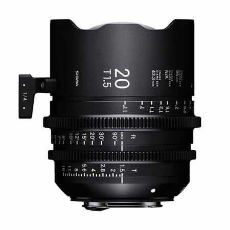 Sigma 20mm T1.5 Cine High-Speed Prime Lens (Canon