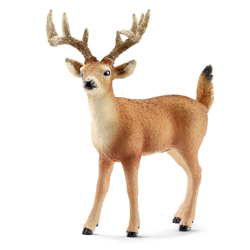 Schleich White-Tailed Buck Toy Animal