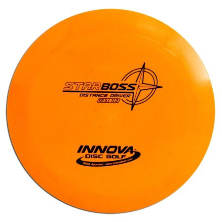 Innova Star Boss, 17-175 grams, Stable Distance Driver By Innova Champion Discs (Echo Star Boss Disc Golf)