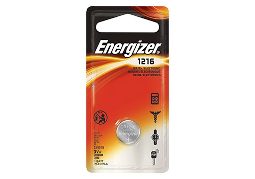 Energizer 1216 Battery (6 Pack) by Energizer Batteries