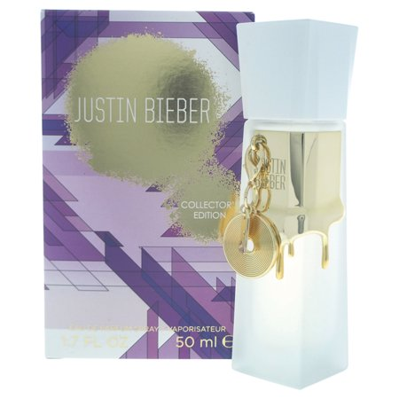 Justin Bieber Collectors Edition Eau De Parfum Spray For Women  1 7 Oz