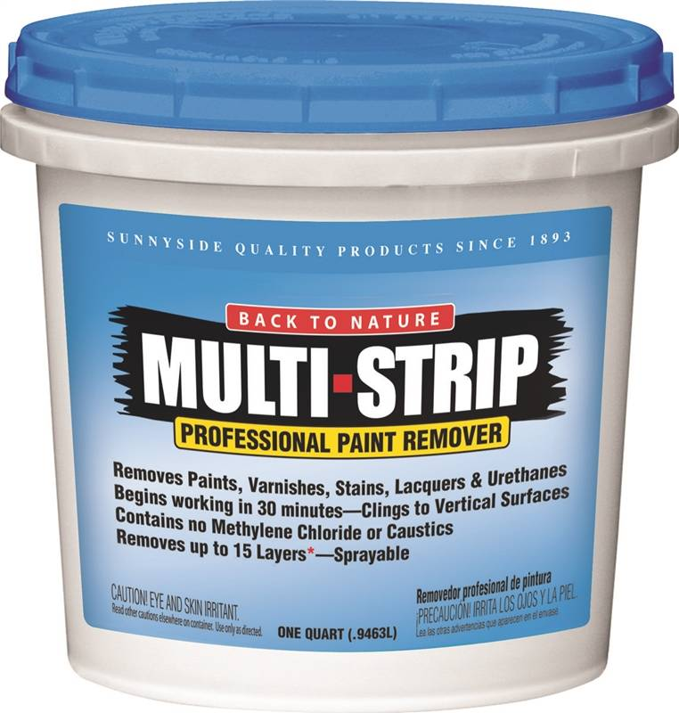 Sunnyside 65732 Multi-Strip Multi-Strip Paint Remover, 1 qt Container, Creamy Gel by Sunnyside Corporation
