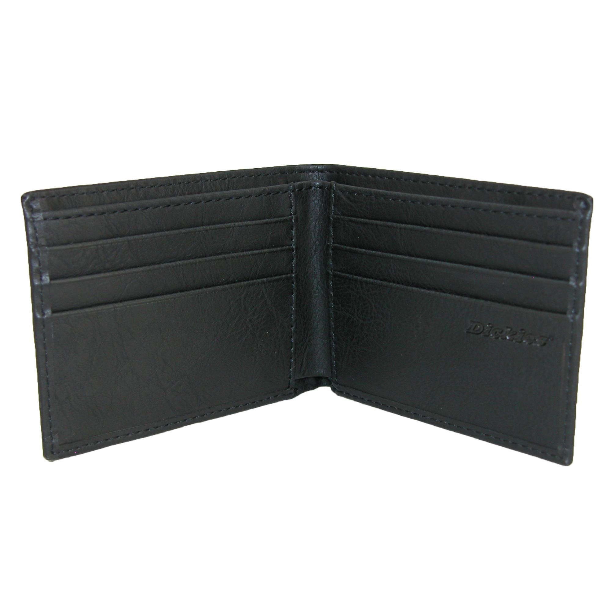 Dickies Men's Leather Slim Basic Bifold Wallet - image 1 de 4