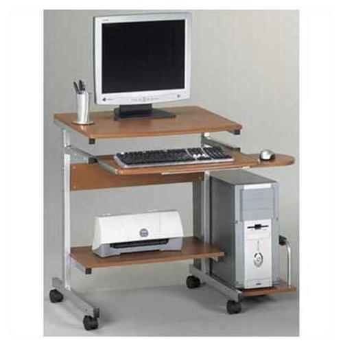 "Mayline Eastwinds 946 Portrait Pc Desk Cart - 19.25"" X 36.50"" X 31.3"" - Thermofoil, Steel - Anthracite Top, Frame (946ANT)"