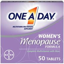 Multivitamins: One A Day Women's Menopause Formula