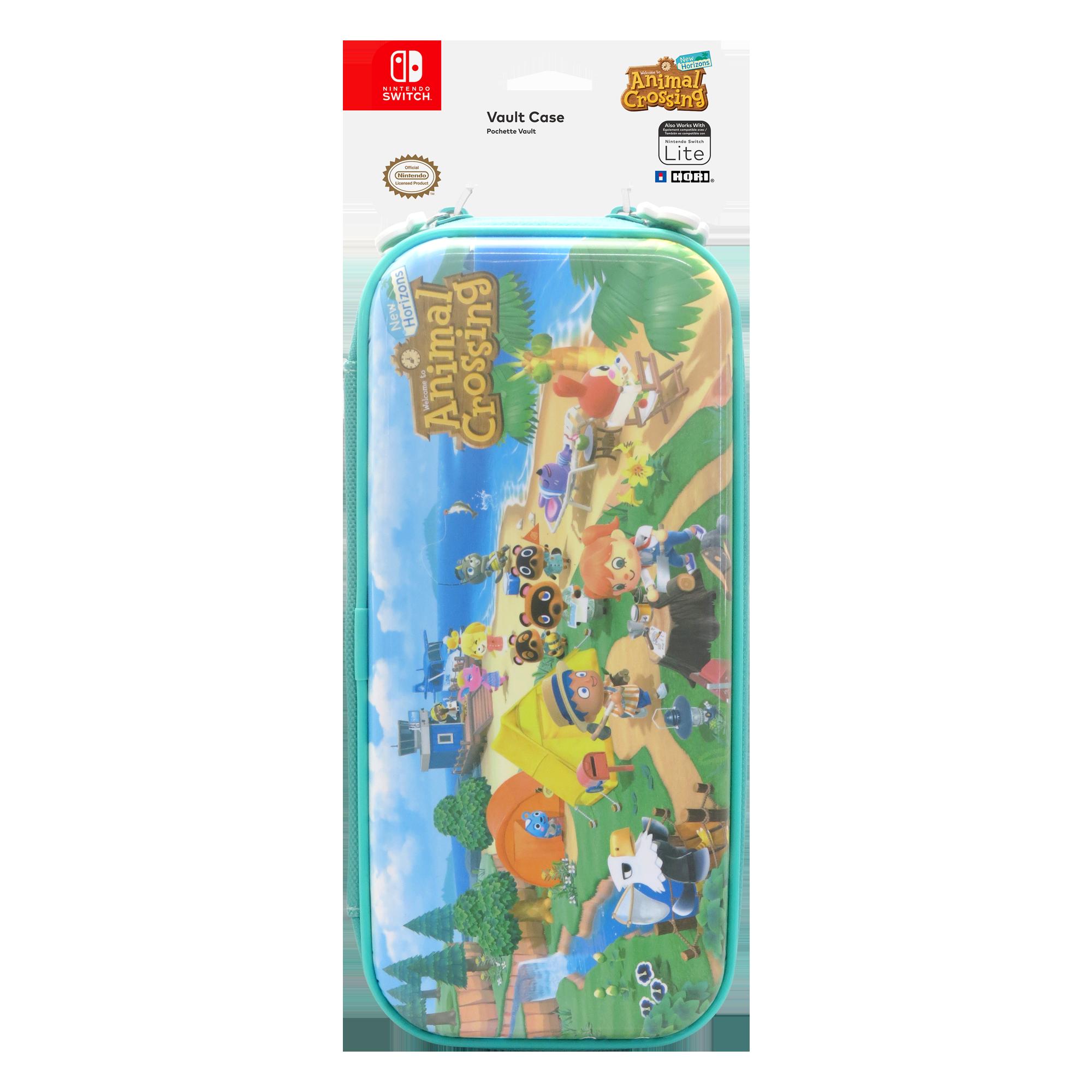 Premium Vault Case With Animal Crossing Design For Nintendo Switch Or Nintendo Switch Lite Hori 873124008760