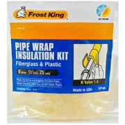 6-Inch x 25-Ft. Fiberglass Pipe Wrap Insulation Kit