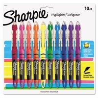 Sharpie Liquid Highlighters Set of 10, Assorted