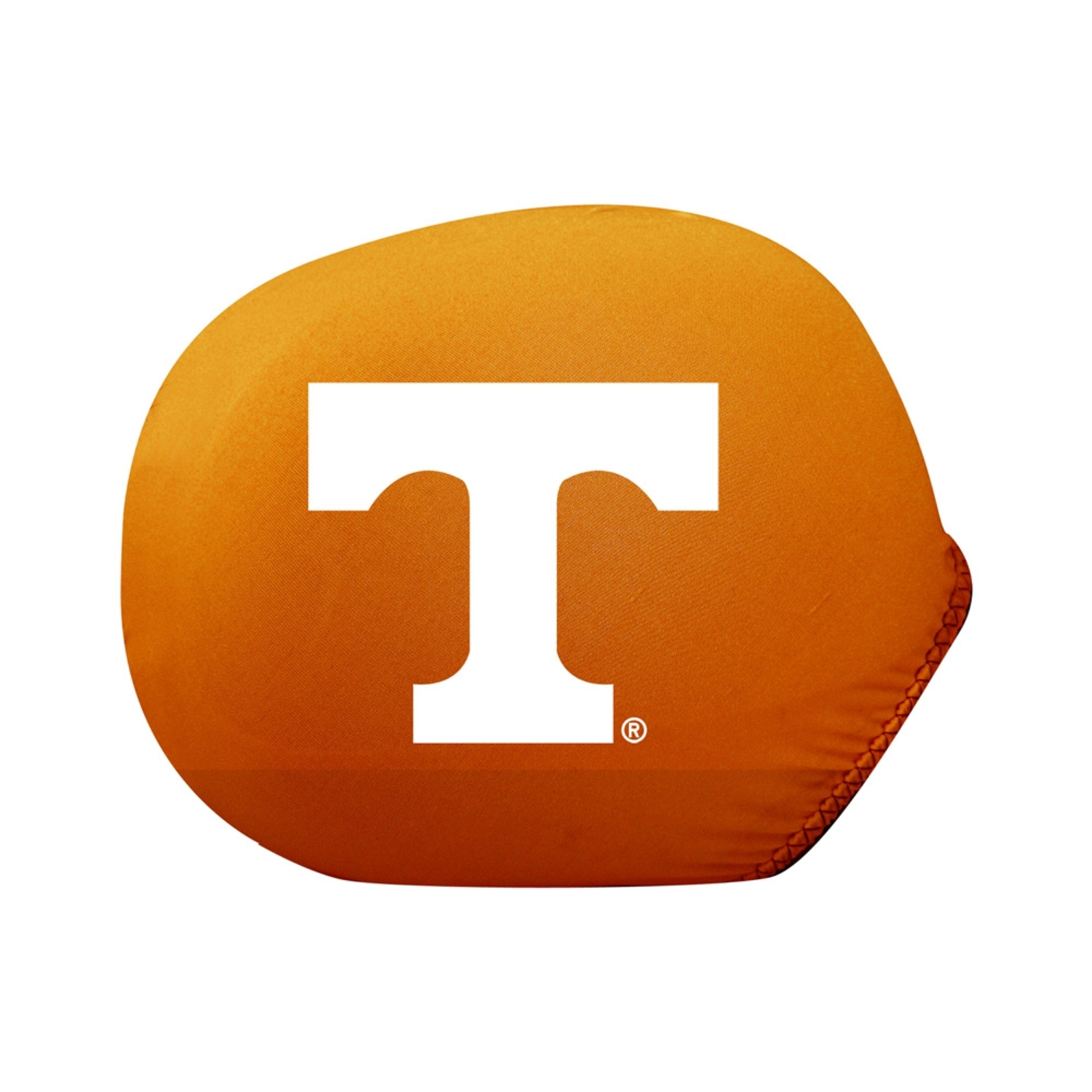 Collegiate Mirror Cover Tennessee (Standard) (Ultra durable 4-way stretch material, Weather resistant)