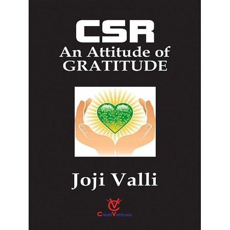 CSR: An Attitude of GRATITUDE - eBook