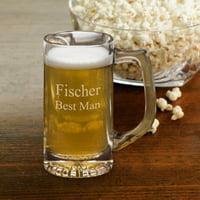 Personalized 12 oz. Sports Beer Mug